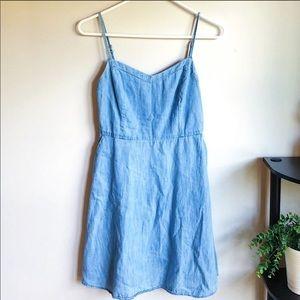 SO Heritage | Denim Blue Dress w/ Pockets sz M ✨